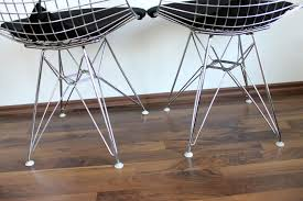 dkr 2 wire chair with upholstery from vitra design ray and