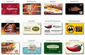 restaurant gift cards 4x fuel points on restaurant and gift cards at kroger