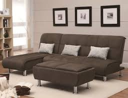 Sofa Back Table by Brown Velvet Sectional Sofa With High Back And Grey Cushions Plus