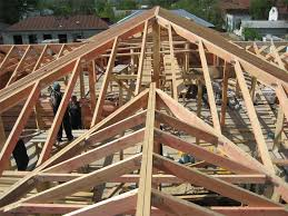 how to build a gambrel roof the sequence of work