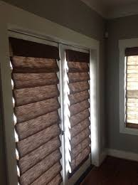 Wooden Roman Shades Decorating Blackout Roman Shades In White Wooden Wall And Wooden