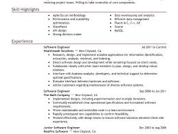 Junior Software Engineer Resume Sample by Download It Resume Sample Haadyaooverbayresort Com