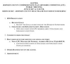 meetings survey u2013 johnson county comprehensive plan