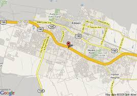 killeen map map of inn killeen fort killeen
