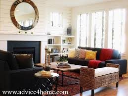 Black Sofa Living Room Best Black Living Room