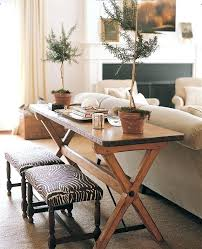 sofa table with stools underneath sofa table with stools the writing desk a stylish solution console