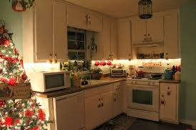 lights for under kitchen cabinets christmas kitchen cabinets dzqxh com