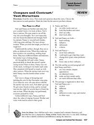text structure worksheets 4th grade free worksheets library
