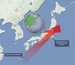 Okinawa Map Super Typhoon Vongfong Hits And 200 000 Flee Their Homes Daily