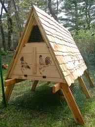 15 creative modern a frame chicken coop designs