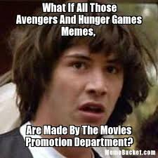 Meme Create Your Own - what if all those avengers and hunger games memes create your own