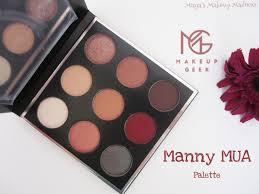 Makeup Mua time makeup x manny mua palette review s makeup