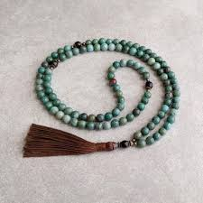 jade beads necklace images African jade mala bead necklace harmony protection golden jpg