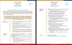 Two Page Resume Example The Most Brilliant 2 Page Resume Template Resume Format Web