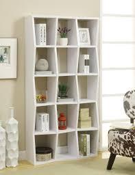Cubic Bookcase Asymmetrical White