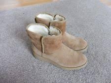 ugg s anais shoes chestnut ugg australia s platforms wedge boots ebay