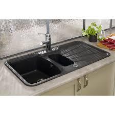 evier cuisine granit noir vasque evier cuisine evier de cuisine sous plan blanc evier