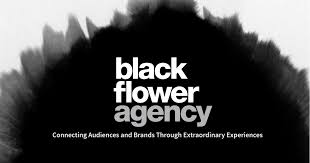 black flower about black flower agency