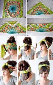 how to wear bandanas with bob hairstyles how to wear a bandana i want to try this heather you re going