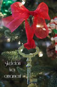 skeleton key ornaments 101 days of your way