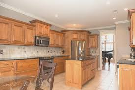 kitchen simple kitchen with maple cabinets inspirational home