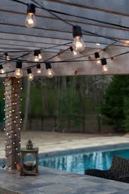 post to hang string lights hanging outdoor string lights target backyard solar in yard ideas