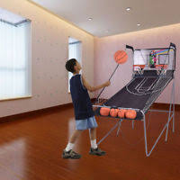 so classic sport x0604 indoor arcade hoops cabinet basketball game new classic sport arcade hoops rec room style basketball game x0604