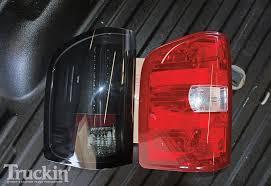 2009 chevy silverado tail lights 2009 chevy silverado 3500 buildup anatomy of a custom truck photo