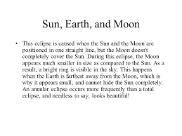 chapter 19 the solar system sun earth and moon the position of