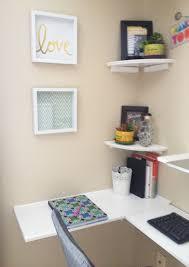 Corner Shelf Desk Ergonomic Corner Desk Diy Mad Like Alyce