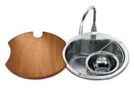 Round Kitchen Sink by Single Bowl Kitchen Sink Stainless Steel Round Rondò ø46 Std
