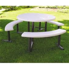 Lifetime Folding Picnic Table Instructions by Best 25 Round Picnic Table Ideas On Pinterest Picnic Tables