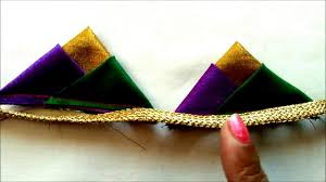 3 triangles design fashion designing tips for blouses