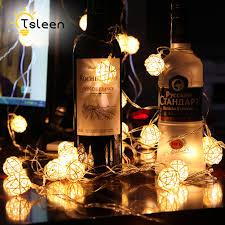 String Lights Balls by Online Get Cheap Rattan Ball Lights Aliexpress Com Alibaba Group