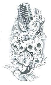 sleeve designs for skull sleeve