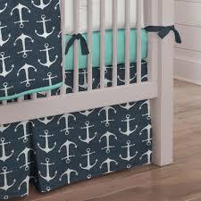 navy anchors crib bedding nautical boy ba bedding carousel with