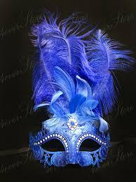blue mardi gras royal blue masquerade mask with diamonds mardi gras masquerade