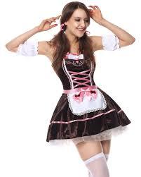 100 dirndl halloween costume yellow german oktoberfest