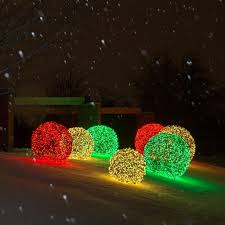 light balls outdoors lights decoration