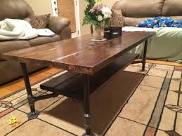 Pipe Coffee Table by Table Basse Pipe Tables Basses Pinterest Black Pipe