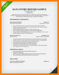 11 resume for data entry mla cover page