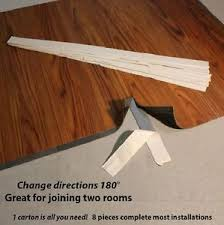 vinyl plank flooring transition strips change direction join