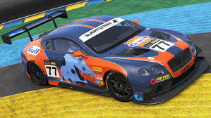 gulf racing pcars fictional sms gulf racing bentley gt3 by t0mmyy36888