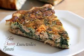 recette de cuisine saumon quiche au saumon amour de cuisine