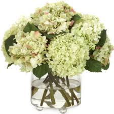 White Hydrangea Bouquet Charitybuzz A Light Green Hydrangea Bouquet From Diane James Home