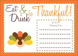 free printable thanksgiving invitations happy thanksgiving