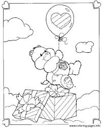 print happy birthday bear care bear2650 coloring pages fiesta