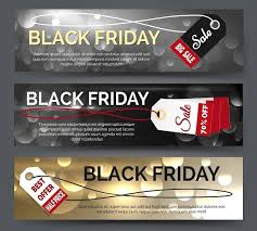 black friday banner black friday banner set graphics creative market
