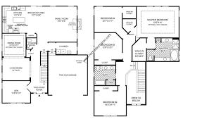 4 bedroom floor plans 2 story uncategorized 4 bedroom 2 bath floor plan showy inside