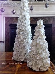 ruffled foam sheets u0026 glitter christmas tree cones foam sheets